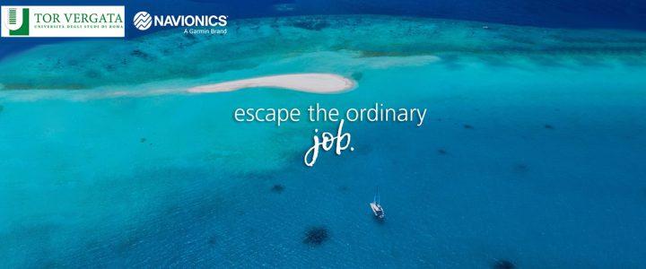 25 marzo 2021, Navionics: Escape the ordinary job